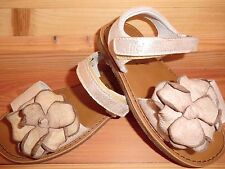 Clic CX-8489 Gr. 24 Sandale gold Blume Glanz Glitzer echtes Leder