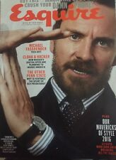 Esquire December '16 / January '17 Michael Fassbender, Spying, Penn State