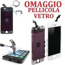 TOUCH SCREEN + LCD DISPLAY RETINA FRAME PER APPLE IPHONE 5S VETRO SCHERMO BIANCO