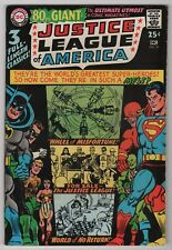 Justice League of America #58 FN/VF 7.0 80-page giant G-41 1967 DC create-a-lot