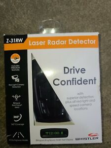 Whistler Z-31RW Laser Radar Detector 360 Degree Coverage New!!! (CR)