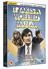 It Takes a Worried Man - Series 1 - Complete (DVD, 2011) Network DVD Rare