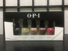 Opi Trend on Ten Mini Nail Lacquers Polish 5 pc 3.75ml Nudes F55 L00 S86 F16 R44