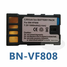 New Battery for JVC BN-VF823U BN-VF815U BN-VF808U Everio GZ-MG330 GZ-MG130U