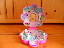 Vintage Polly Pocket Bluebird Garden Surprise Statue 1990