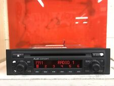 Audi A4 B6 Concert Cd Player Car Radio Stereo Head Unit And Code Model 8e0035186