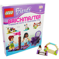 *NEW* LEGO FRIENDS BRICKMASTER -READ AND BUILD PLAY LEGO INCLUDED TREASURE HUNT