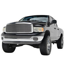 02-05 Dodge Ram 1500 Upper Grille with ABS Shell Chrome Aluminum Billet Grill