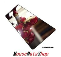 Iron Man Extra Large Gaming Mouse Mat Pad Anti-Slip for PC Office Laptop 80x30cm