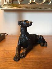 More details for  greyhound - figurine / sculpture / ornament / bronze resin - lurcher