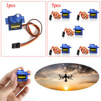 5XPOP 9G SG90 Micro Servo motor RC Robot Helicopter Airplane Control Car Boat AB