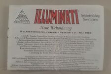 illuminati trading card game rules only