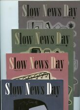 Slow News Day #2, #3, #4, and #5 Slave Labor Graphics Lot of 4 Comics