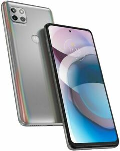 Motorola One 5G Ace 2021 (Unlocked) 128GB Memory - Frosted Silver