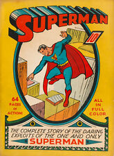 Superman #1 (1939), Dc Comic Original impresión de reproducción de calidad de cubierta de arte