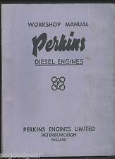 PERKINS DIESEL ENGINES FOUR 99 WORKSHOP MANUAL JUNE 1959