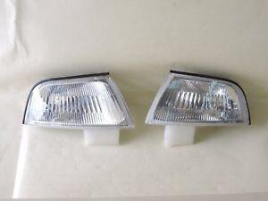 Mitsubishi Lancer Mirage Crystal Corner Lights Lamps 1997 98 99 2000 E-MARK EVO