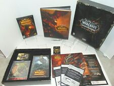 World Of Warcraft Cataclysm Collector's Edition Near Complete - Complete