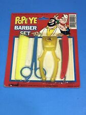 Vintage 1980 Popeye Barber Set by Larami  Free Shipping