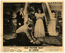 OLD MOTHER RILEY AT HOME Original Lobby Card Arthur Lucan Kitty McShane rare