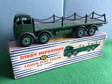 Dinky Supertoys 905 Foden Flat Truck With Chains - Boxed