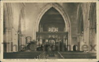 NEWPORT PAGNELL St. Peter and St. Paul's Church Postcard BUCKINGHAMSHIRE Line, J