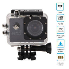 Action Camera for SJ7000 Wifi 2 LTPS Sports Extreme Mini HD 1080P DV Black