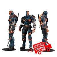 New Deathstroke Batman Arkham McFarlane DC Multiverse Origins Action Figure Toy