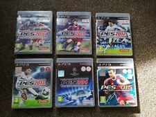PES Bundle PS3 - Football Playstation 3 Joblot x 6 games 2010,11,12,13,14 & 15