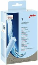 Jura 71312 Claris/ Clearyl Water Filter, Pack of 3, Blue NEW