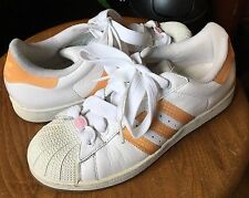 ADIDAS WHITE LEATHER #723001 FROM INDONESIA Women's Size 7 US  5.5 UK
