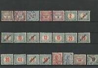 Wertvolles Lot Ungarn ab 1920 gestempelt + ungestempelt 22 Briefmarken