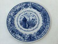 """Lamberton Scammell Official Souvenir New-York World's Fair 1939 Plate, 11"""" Dia"""