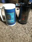 2 Thermo Serve Lowenbrau Munich Light Special Beer Mug + Michelob Used