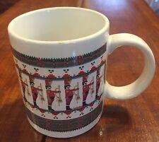 Matrix Coffee Mug, Jill Garber Design Stanley Papel Christmas Toy Soldiers