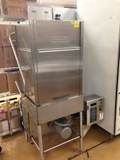 Hobart Commercial Dishwasher Upright Pass Though Door Type High Temp