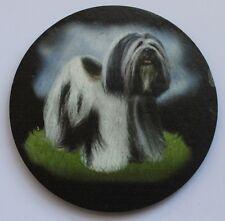 Lhasa Apso -  Dog - Coaster - Welsh Slate