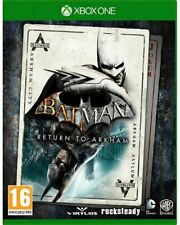 Xb1-Batman: return to Arkham-HD Collection Asylum & City - (nuevo embalaje original &)