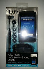 iLuv iCC650 Starter Kit For iPod touch 2nd Generation, New, Free Shipping