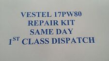 Vestel 17pw80 power supply REPAIR KIT , Sharp ,Toshiba , Hitachi , Digihome ECT