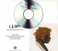 L.A. SALAMI Dancing With Bad Grammar Sampler UK 4-trk promo only CD