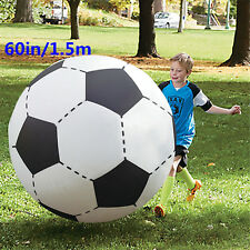 Inflatable Foot Ball 60inch Super Sized Bouncing Football Beach Play Balls Toy