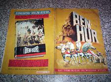 ALBUM BEN HUR ED.LAMPO 1960 Q.COMPLETO (-39 FIGURINE) BUONO NO PANINI EDIS MIRA