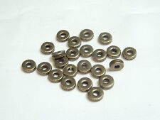 AB846 GM 40 pcs x Gunmetal Plated Washer Spacer Beads