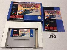 Super Nintendo (snes ) F-zero Pal Version Boxed