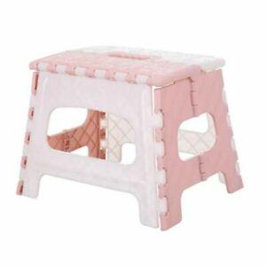 Plastic Multi Purpose Folding Step Stool Home Kitchen Easy Storage Foldable New
