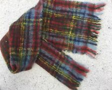 Vintage Nethy Mohair And Wool Scarf From Scotland In Multicolor - Unisex