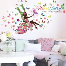 Removable Vinyl Wall Decal fairy dream Girl Sticker Home Room DIY Home Decor