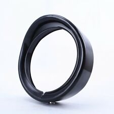 BLACK HARLEY FRENCHED HEADLIGHT RING - ROAD KING, TOURING, TRIKE AND FL SOFTAIL