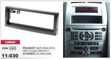 CARAV 11-030 1Din Kit de instalación de radio PEUGEOT 407, Coupe, CITROEN C5